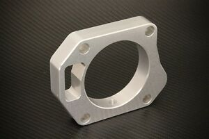 Throttle Body Spacer Silver Fits Honda Civic Si 2006 2011 By Torque Solution