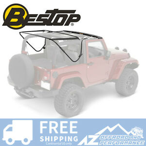 Bestop Factory Style Frame Bow Kit For 2007 2018 Jeep Wrangler Jk 2 Door