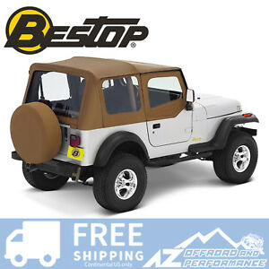Bestop Replace A Top Half Door Skins Clear Spice For 97 02 Jeep Wrangler Tj