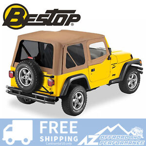Bestop Replace A Top Half Door Skins Tinted Spice For 97 02 Jeep Wrangler Tj