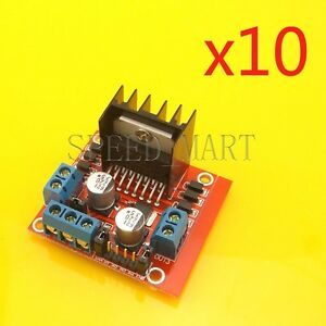 10 X New L298n Dc Stepper Motor Driver Module Dual H Bridge Control For Arduino