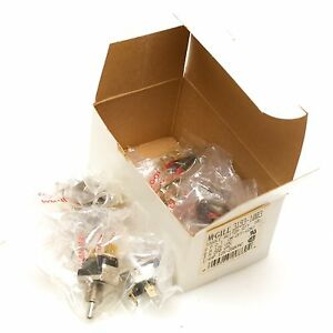 Mcgill 3193 1003 on off on 3 position Toggle Switches Pack Of 10