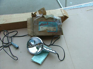 Vintage 1950 s Buick Hand Held Spot Light 6 Volt Nos Handy Spot Spotlight