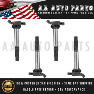 Set Of 4 Ignition Coil For Toyota Corolla Prius 1 8l L4 C1714 Uf596 Uf619