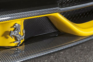 Novitec Carbon Cover For The Flaps On The Front Bumper Ferrari 458 Speciale