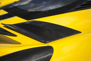 Novitec Carbon Flaps For The Air Intake At The Sidewall Ferrari 458 Speciale