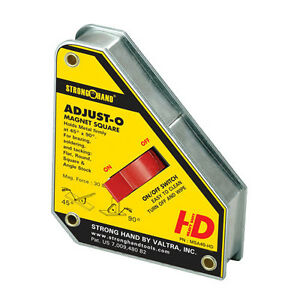 Strong Hand Tools 6 In Heavy Duty Adjust o Magnet Square msa48 hd