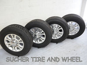 Dodge 2500 3500 Pickup 18 Factory Oem Wheels Rims With Michelin Ltx Tires