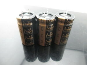 5pcs Nichicon Kg Gold Tune 6800uf 35v 6800mfd Audio Electrolytic Capacitor Cap