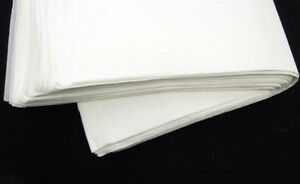 24 X 40 White Tissue Paper Ream 480 Sheets Quality Thick Packing Cushion Fragile