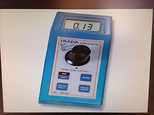 Copper Photometer With 555 Nm Led Hanna Instruments 93702