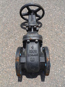 Milwaukee Gate Valve F2885a 4 125s 200wog
