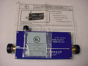 Maury Microwave 4095 Precision High Directivity Directional Coupler 1 5 3 0 Ghz