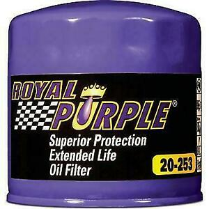 Royal Purple 20 253 Extended Life Oil Filter W Anti Drain Back Valve