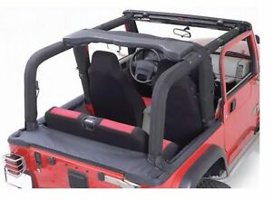 Rugged Ridge 13611 15 Full Roll Bar Cover 5 Piece Kit For 92 95 Jeep Wrangler
