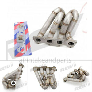 Rev9 Hp Series Topmount Equal Length Turbo Manifold 44mm Fit Civic Integra B16
