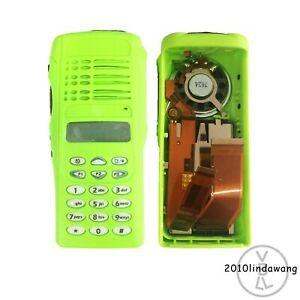 Green Replacement Housing For Motorola Pro7150 Portable Radio Lcd speaker mic