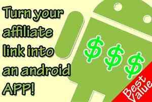 Convert Your Affiliate Link Into An Android App