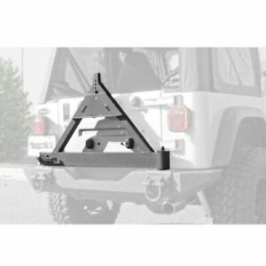 Rugged Ridge 11546 42 Xhd Rear Bumper Tire Carrier For Cj5 Cj7 Scrambler Tj Yj