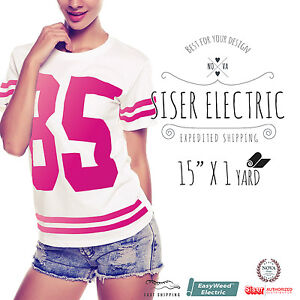 Siser Easyweed Electric Heat Transfer Vinyl 15 X 1 Yd select Your Color