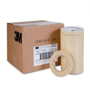 3m 06545 Automotive Masking Tape 3 4 Rolls Case Of 48