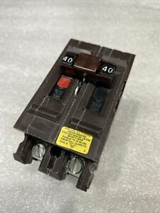 A240ni Wadsworth Circuit Breaker 2 Pole 40 Amp 120 240v new