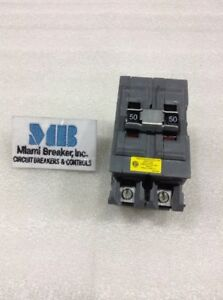 A250ni Wadsworth Circuit Breaker 2 Pole 50 Amp 120 240v new