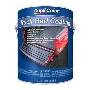 1 Gallon Duplicolor Truck Bed Liner Paint Coating Spray Trg 252 80 100 Sq Ft