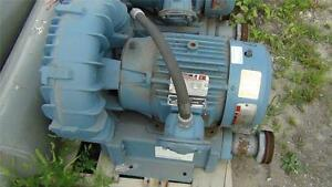 Eg g Rotron En808ba72xl 7 5hp Blower 3 Phase 230 460 Excellent