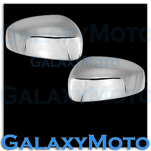 Triple Chrome Plated Mirror Cover A Pair For 2013 2015 Nissan Pathfinder 13 15