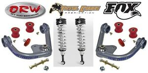 Kit Fox 2 0 Front Coil Overs Control Arms 07 Toyota Tundra 985 02 004 87500