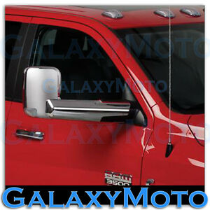10 19 Dodge Ram 1500 2500 3500 hd Triple Chrome Plated Towing Mirror arm Cover
