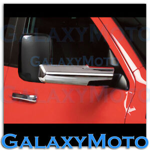 Chrome Towing Mirror For Arm Cover Only For 10 19 Dodge Ram 1500 2500 3500 Hd