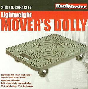 Lightweight Mover s Dolly 200 Pound 19 1 2 X 14 3 8 Furniture Moving Dj Cart
