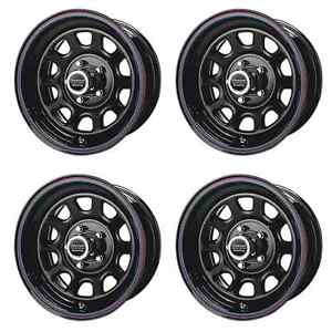 American Racing Ar Perform Ar7675765 15x7 0mm Offset 5x114 3 Blk Set Of 4 Rims