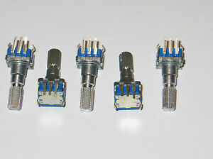 5 X Rotary Encoder With 30 Detents