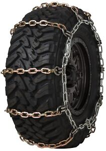 Quality Chain 3131hdqc Wide Base Cam 8mm Square Link Tire Chains Snow Suv Truck