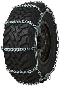 Quality Chain 3827 Wide Base Non cam 7mm V bar Link Tire Chains Snow Suv Truck