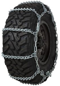 Quality Chain 3835qc Wide Base Cam 7mm V bar Link Tire Chains Snow Suv Truck