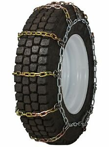 Quality Chain 2145rhd Non cam 8mm Square Link Tire Chains Snow Traction Truck