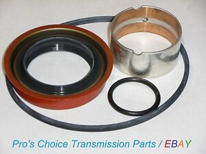 Complete Tail Housing Reseal Kit With Bushing fits 1991 2003 4l80e Transmission