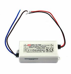 10pc Led Power Supply Constant Current Cc Driver Apc 12 700 700ma 12w 9 18v Mw