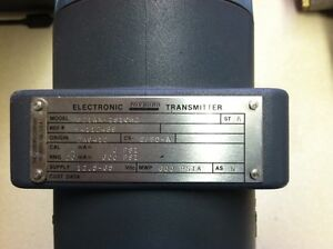 Foxboro Elctronic Transmitter 821am is1ch2