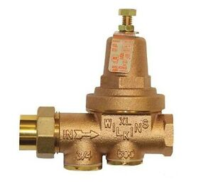 Wilkins 34 600xl Water Pressure Reducing Valve 3 4 Inch
