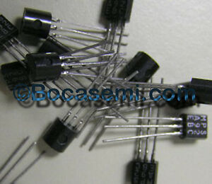 Mpsa92 2n5401 High Voltage Transistor Pnp To 92 New Mfr Bsc Lot Of 10pcs