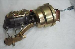 7 Dual Booster W Master Cylinder Disc Disc Proportioning Valve