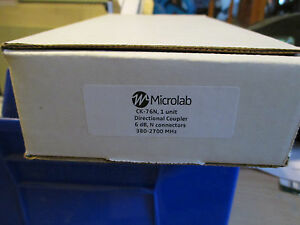 Microlab fxr Ck 76n Directional Coupler 6db N Connector 380 Mhz To 2700 Mhz
