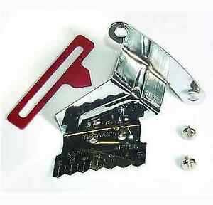 Mr Gasket 4598 Chrome Timing Tab W Adjustable Pointer For Chevy Small Block