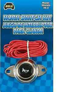 Wolo Hs 2 Universal Horn Button Switch Kit Chrome Finish