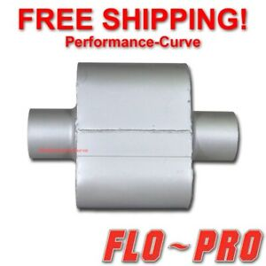 Single Chamber Performance Exhaust Race Muffler Flo Pro Super V 3 V430109